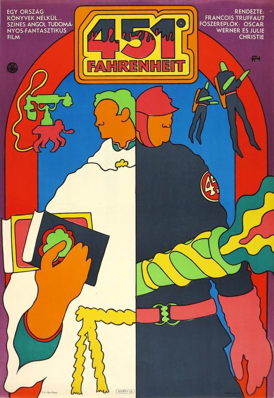 fovarosi.blog.hu: 196911-451Fahrenheit-Plakat-grofjardanhazy - indafoto.hu