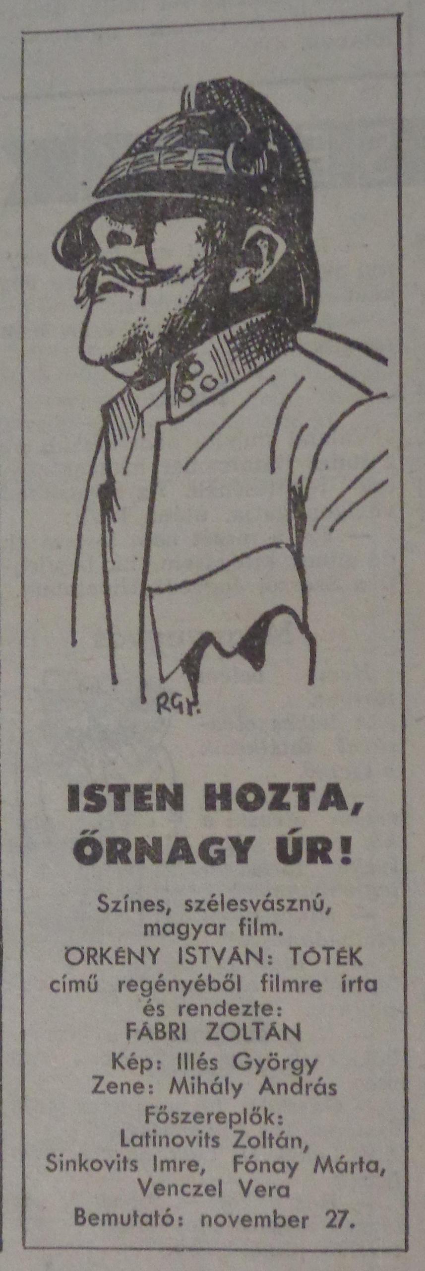 fovarosi.blog.hu: IstenHoztaOrnagyUr-19691123-NepszabadsagHirdetes - indafoto.hu