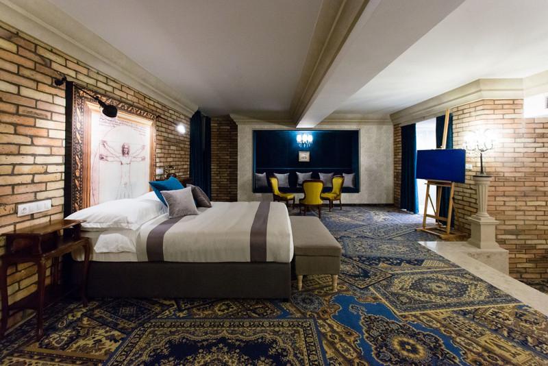 Atelier Studio szoba. Fotó: Mystery Hotel Budapest