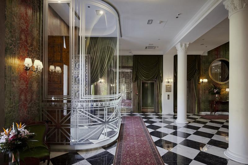 A bejárat előtere. Fotó: Mystery Hotel Budapest