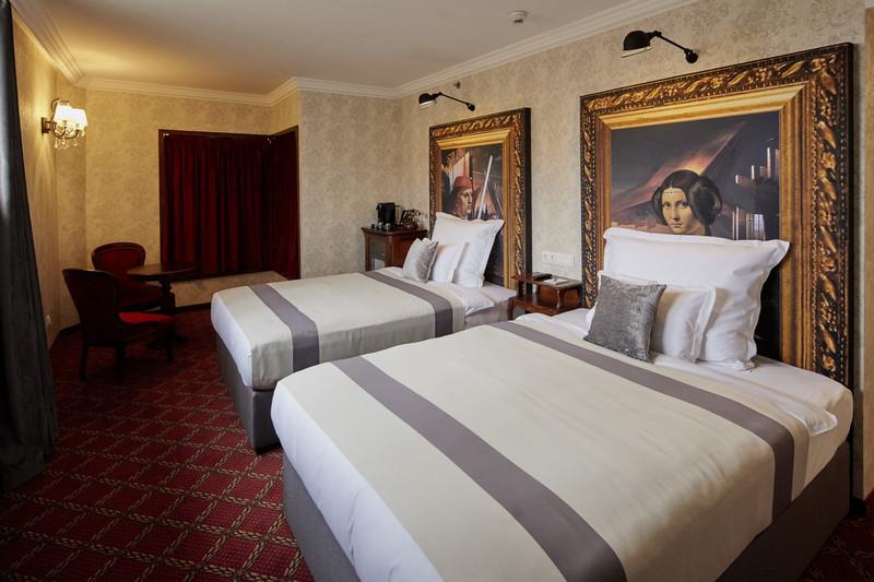 Mystery Double Double Corinthian szoba. Fotó: Mystery Hotel Budapest