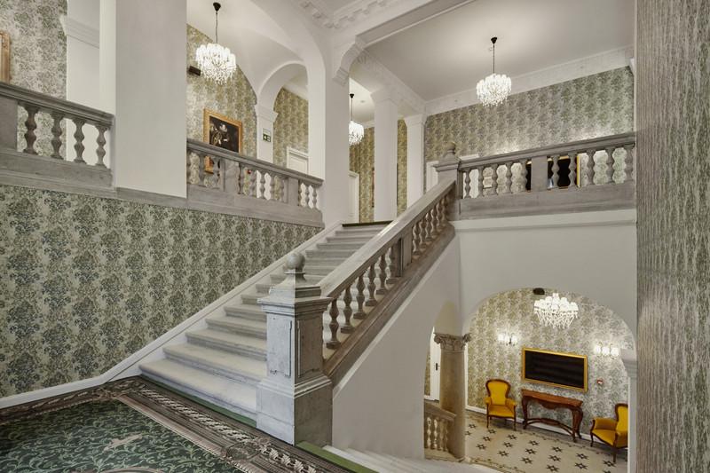 Lépcsőház. Fotó: Mystery Hotel Budapest