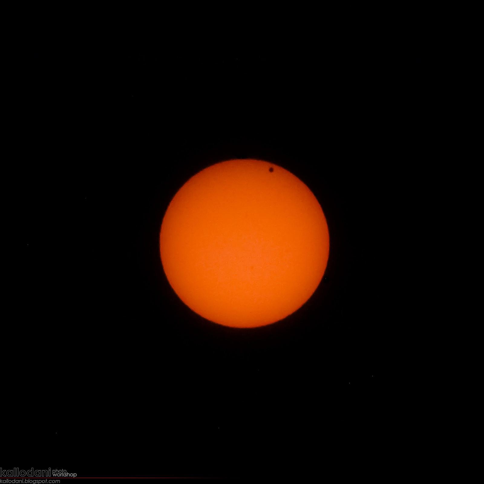 kallodani: Vénusz átvonulás