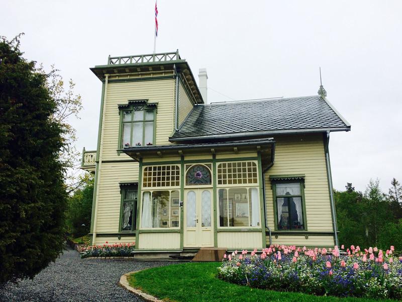 norvég grieg house