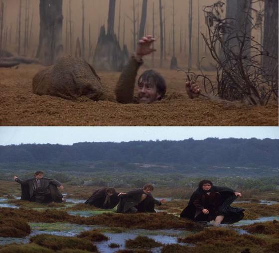 A Krull mocsara (Krull) vs a Holtláp (Gyűrűk Ura)