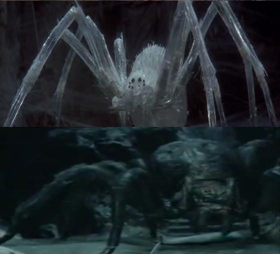 Krull pókja (Krull) vs a Banyapók (Gyűrűk Ura)