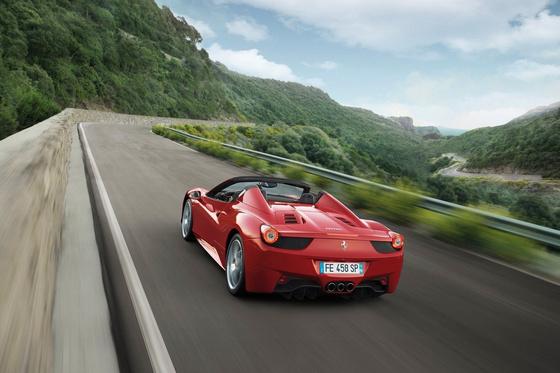 ferrariszubjektiv.blog.hu Ferrari-458 Spider 2013 1600x1200 wall