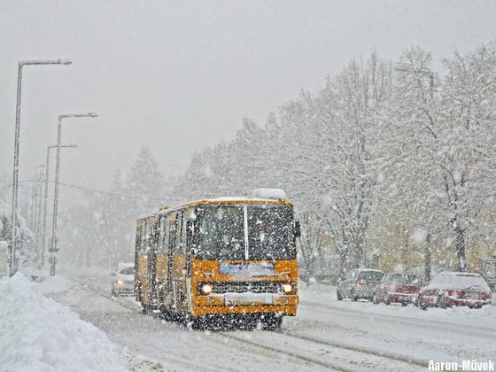 Győri hóhelyzet (8)
