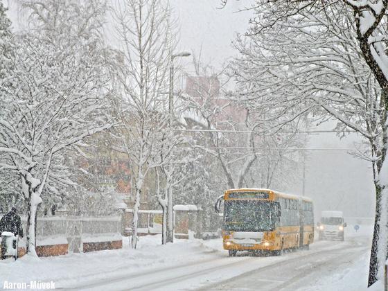 Győri hóhelyzet (9)
