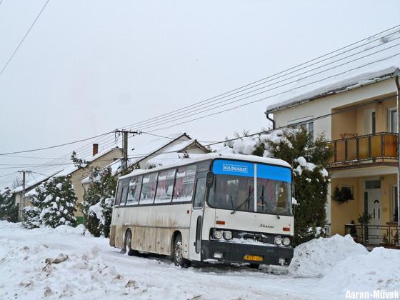 Rábaközi hóhelyzet (6)