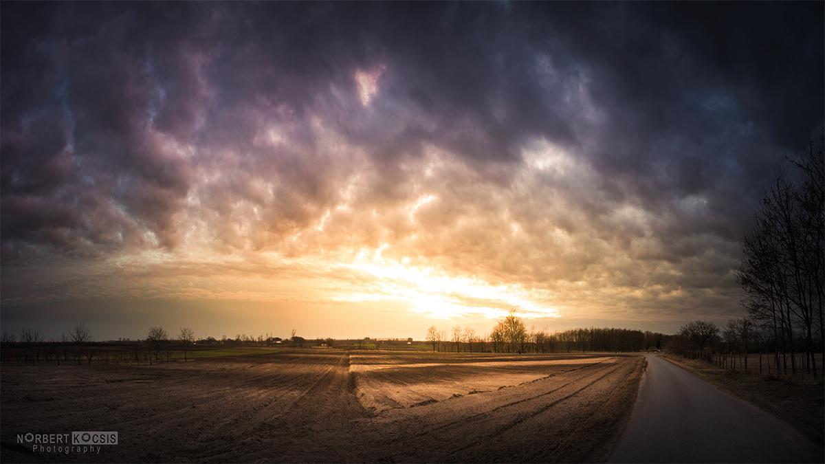 Tavaszváró naplemente