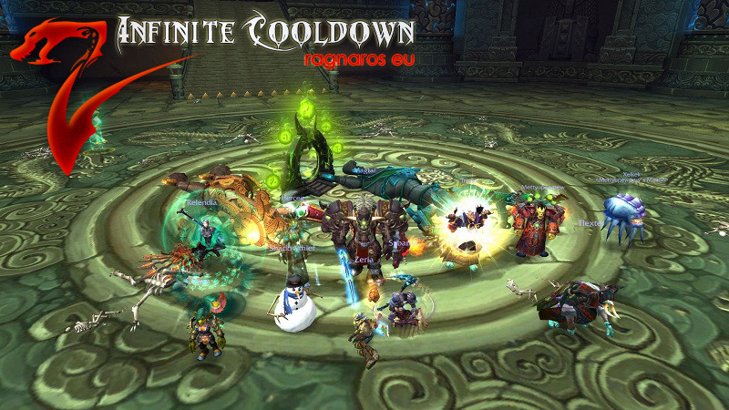 Infinite Cooldown: Twin Consorts - 10 man HC mini