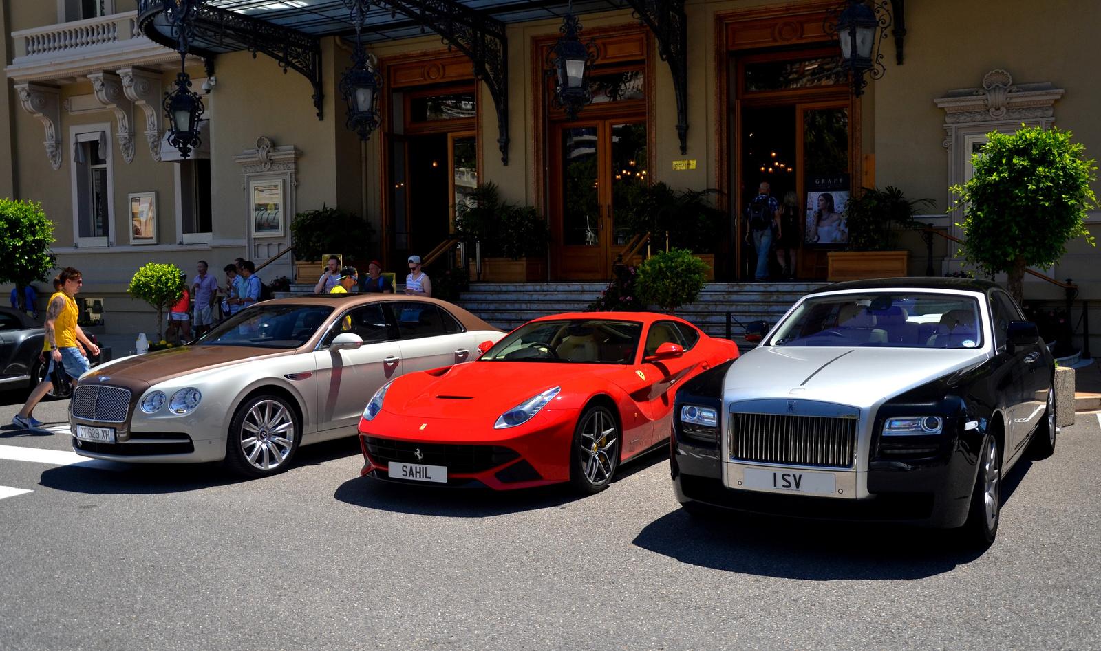 Bentley - Ferrari - Rolls-Royce