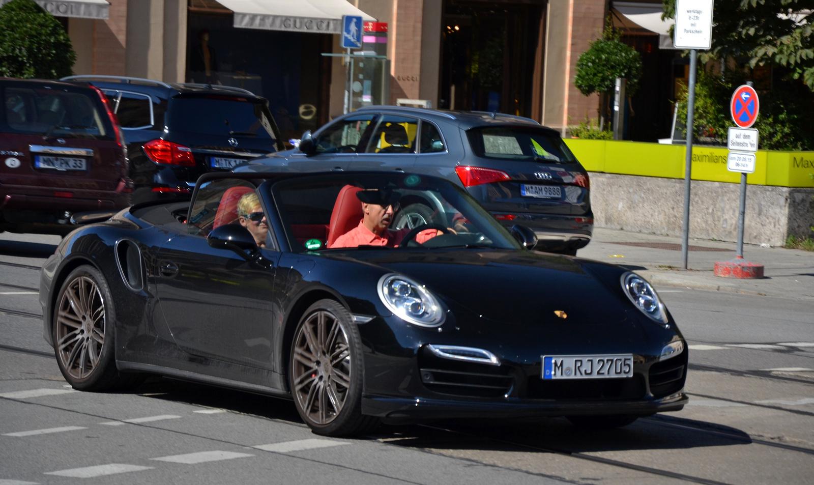Porsche 911 Turbo Cabriolet (991)