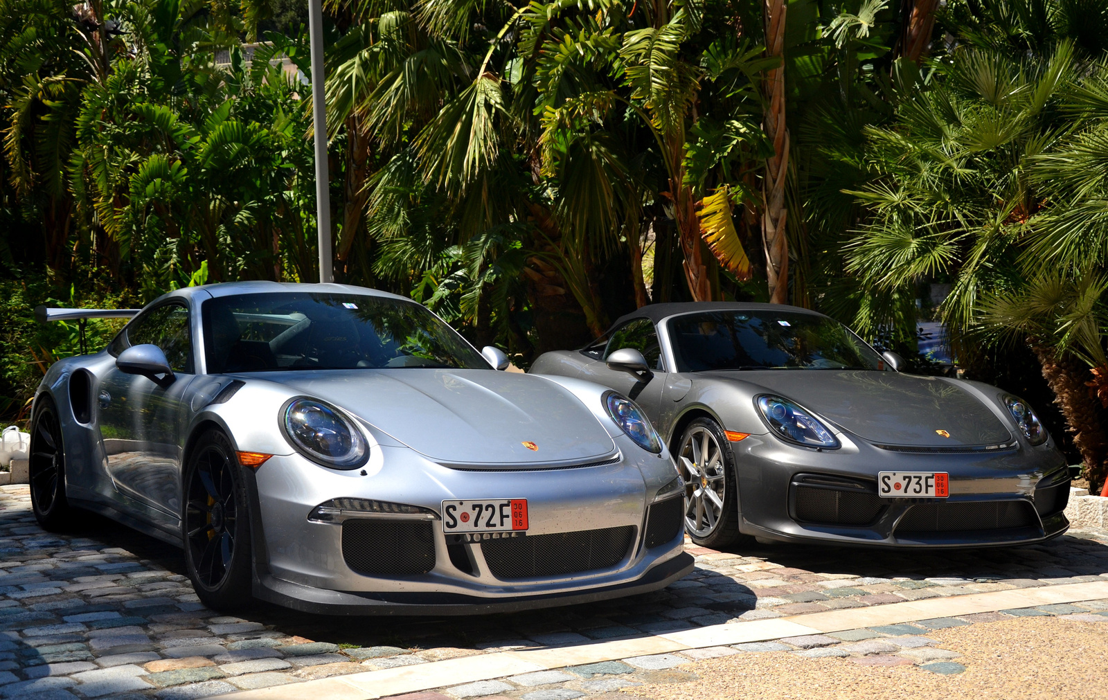 991 GT3 RS - Boxster Spyder