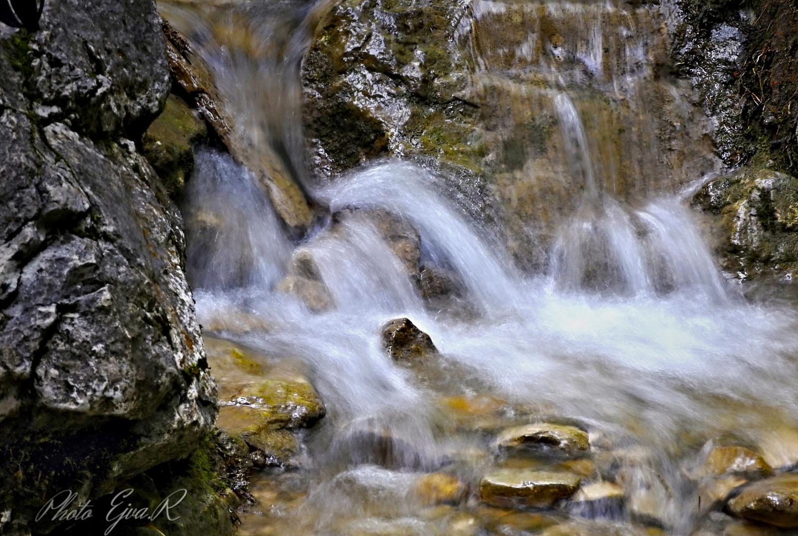 Vízesés Alpok Patak