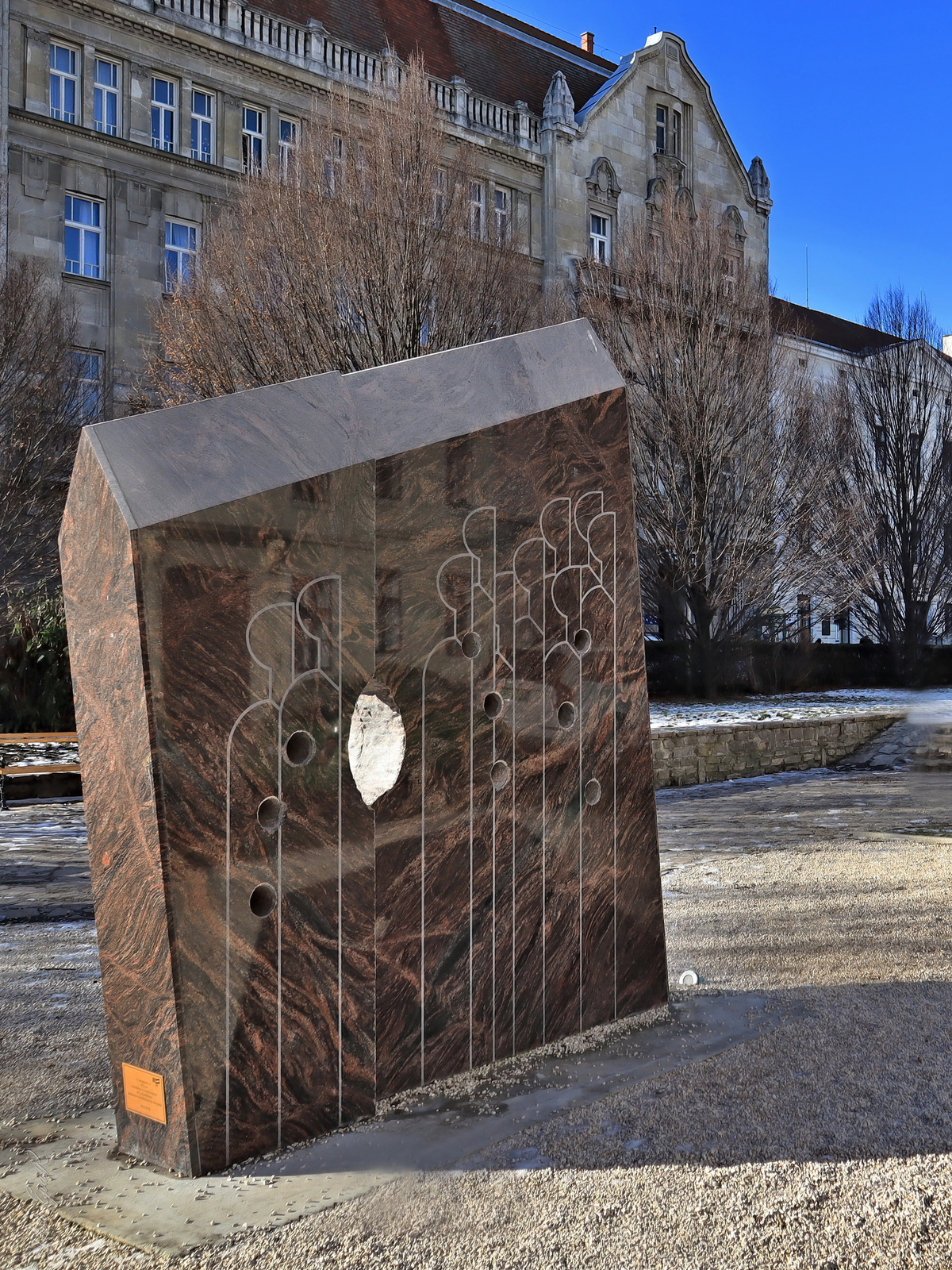 1956-os emlékmű Sopron