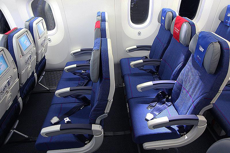 Turista osztály Fénykép: flybranchen.dk