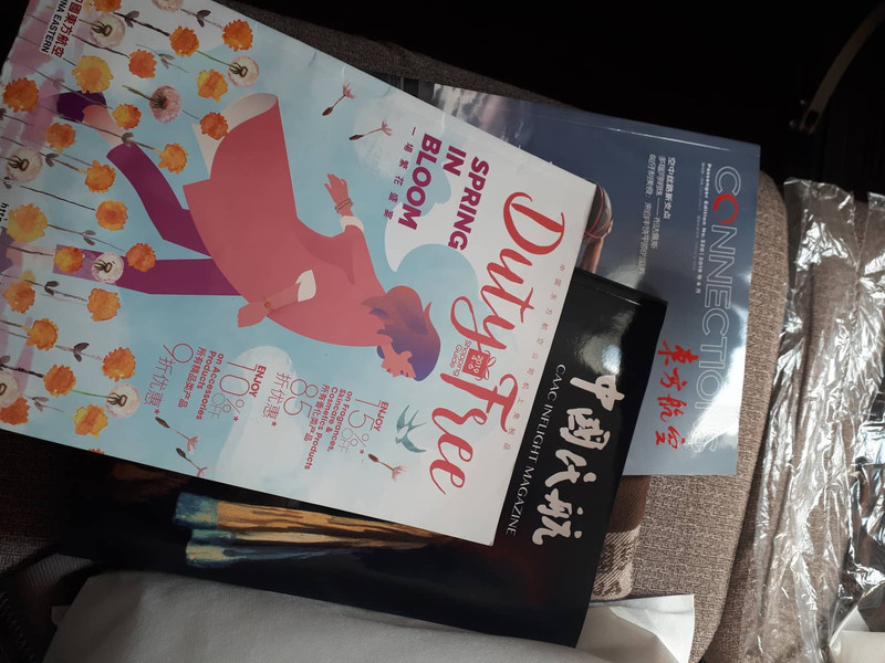 2 féle fedélzeti magazin és Duty Free magazin várja az utasokat