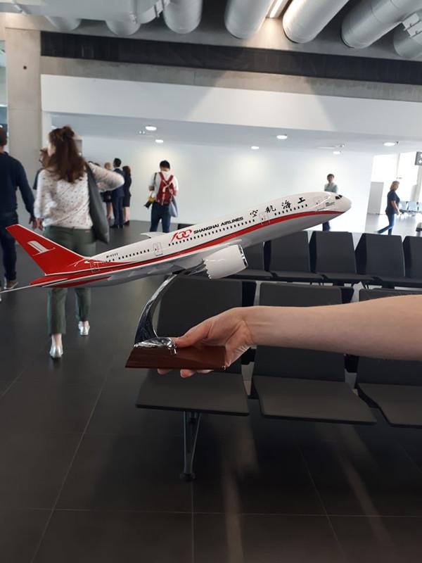 A légitársaság ajándéka a BUD CEO-nak