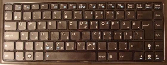 ASUS UL30Jt keyboard