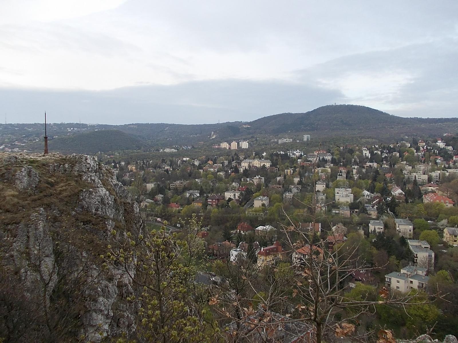 Az Apáthy-szikla nyújtotta panoráma. Fotó: Tarnai Máté
