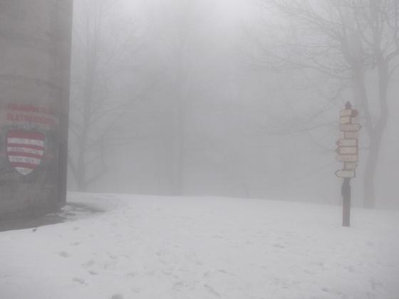 A Börzsönyben még a tél az úr. Fotó: Tarnai Máté