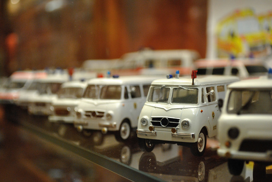 Puffancs: Mentőautó modellek