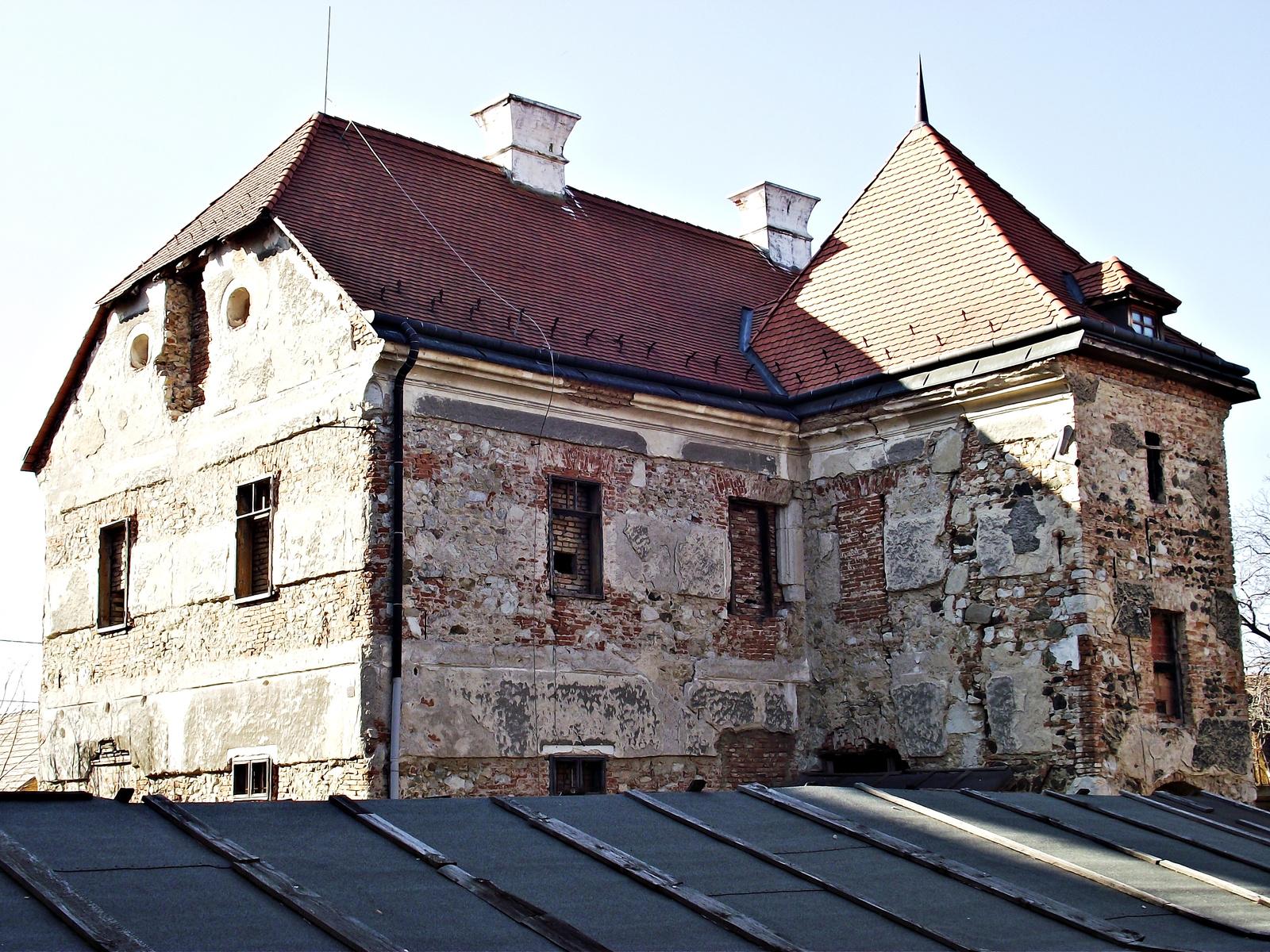 Szászvár - Vár