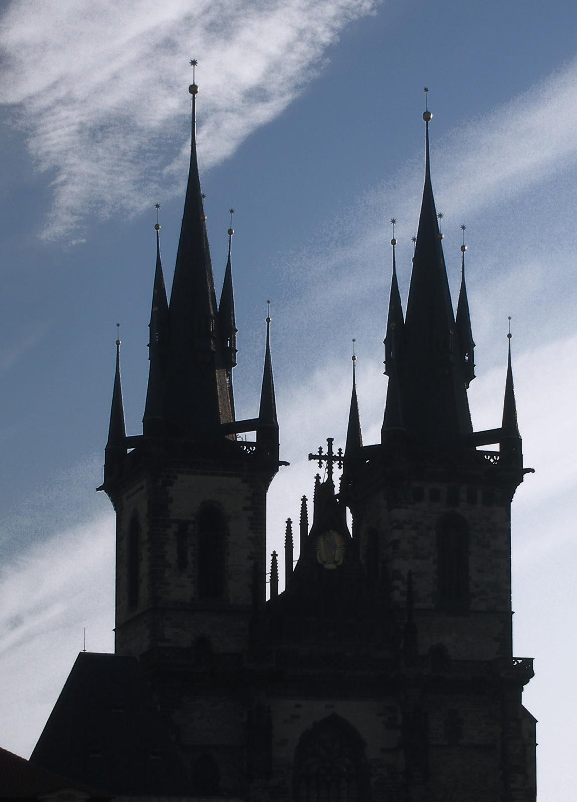Prágai sziluett