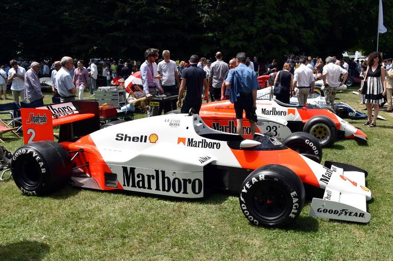 1985 McLaren MP4/2B
