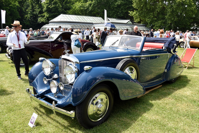1937 Bentley 4¼ Litre
