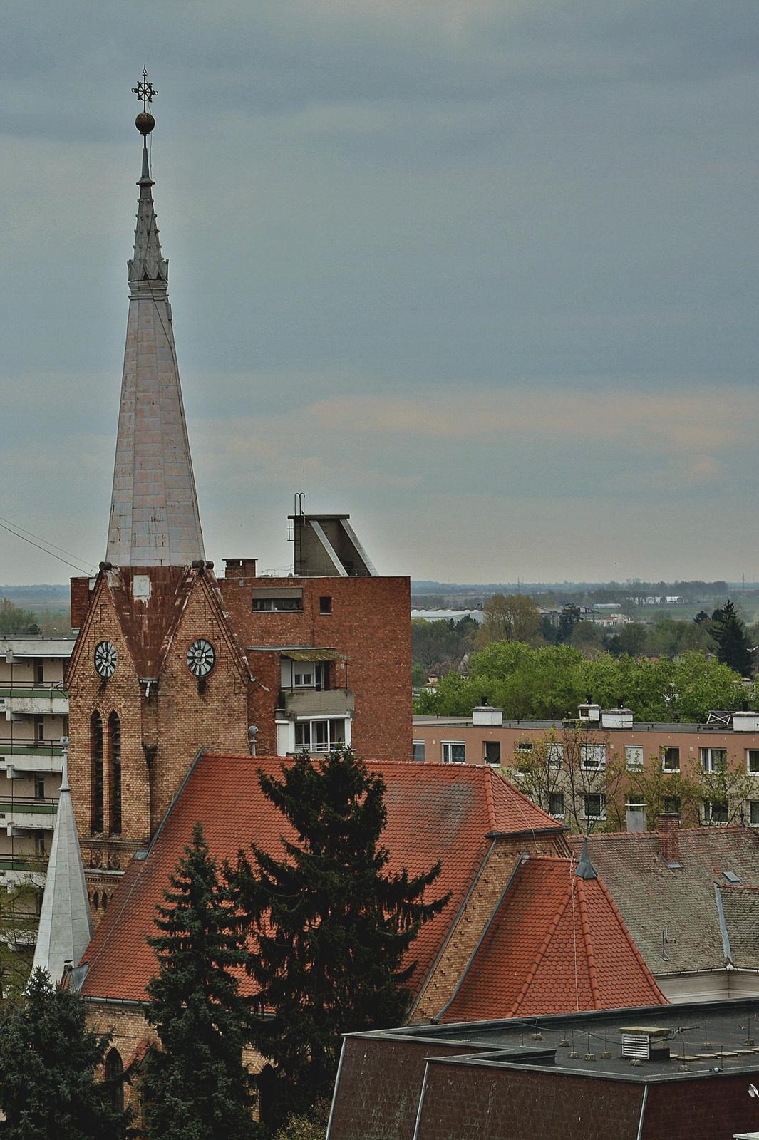 Evangélikus templomtorony