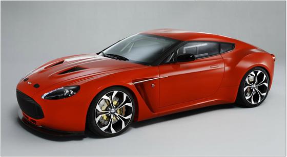 Aston Martin Zagato 2012