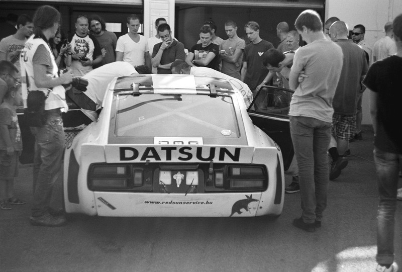 aardvark datsun 260Z hungaroring 2013 aug 17