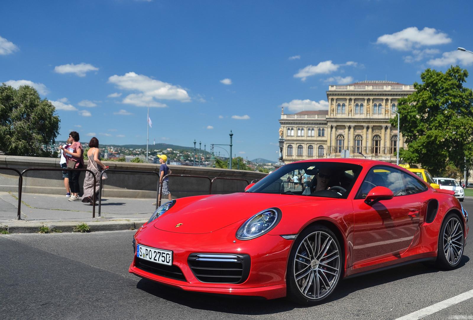 Porsche 911 Turbo MkII (991)