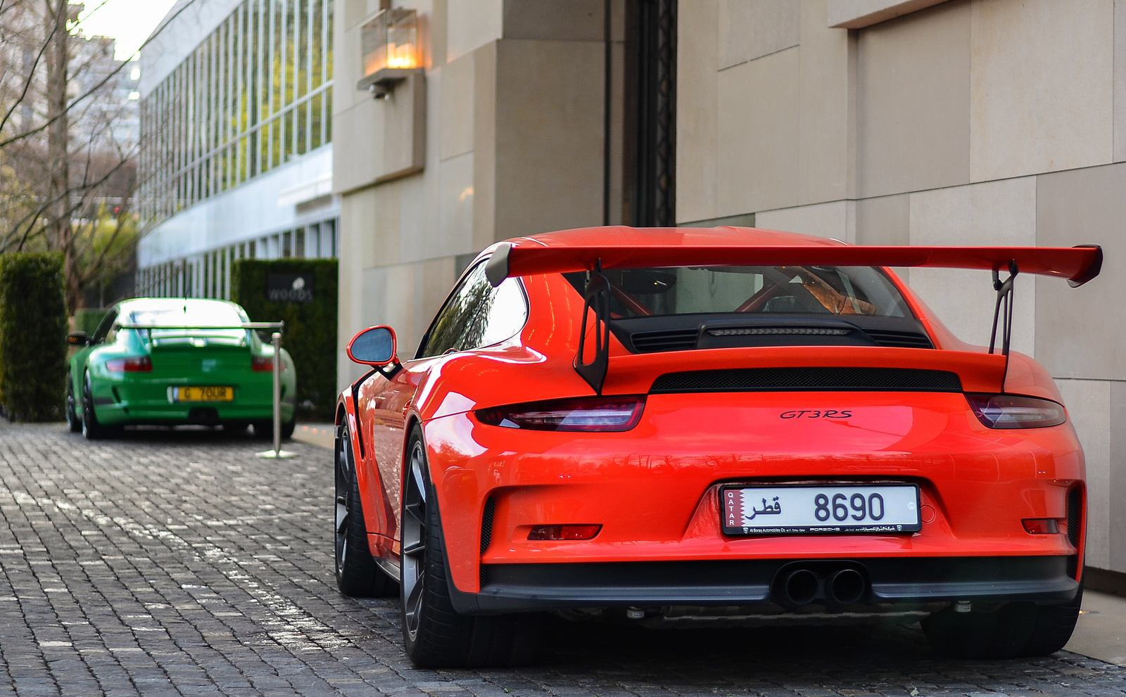 991 GT3 RS - 997 GT3 RS