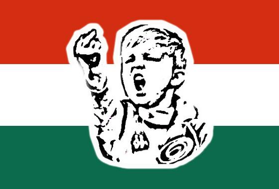 babaváró zászló