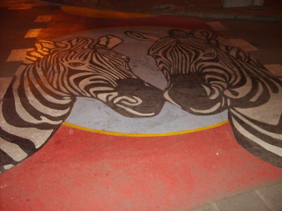 Zebra Belgrádban