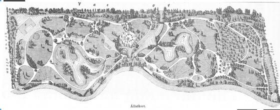 Állatkert a megnyitáskor (1866)