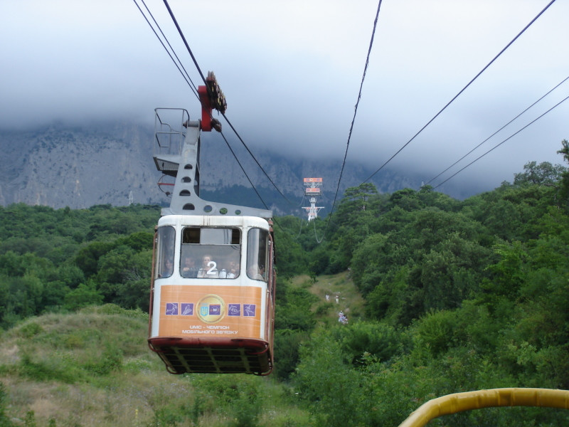 vrobee: Cablecar to the Ai Petri
