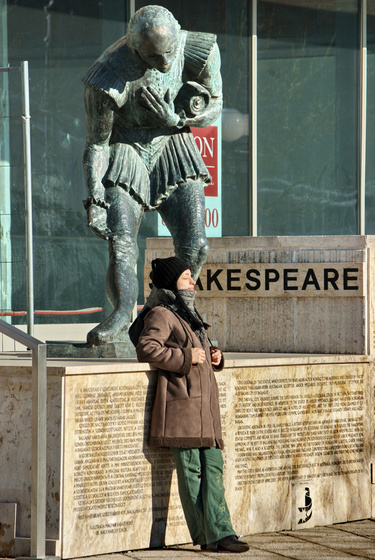 James Cage: Sunbath with Shakespeare