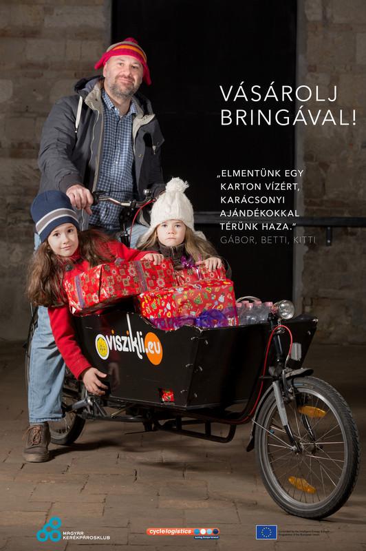 Vásárolj bringával! - ennyire egyszerű