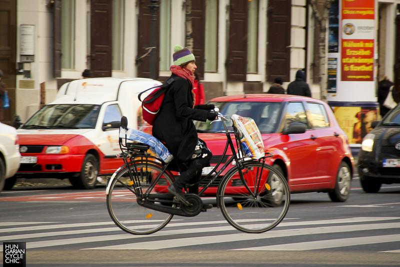 Bevásárlás biciklivel
