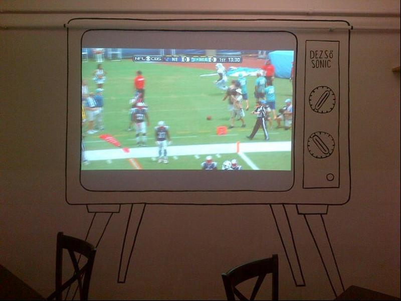 NFL megy a tévében