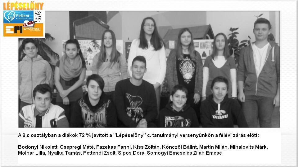 Diadal Úti Általános Iskola: 8c javítók 201512 - indafoto.hu