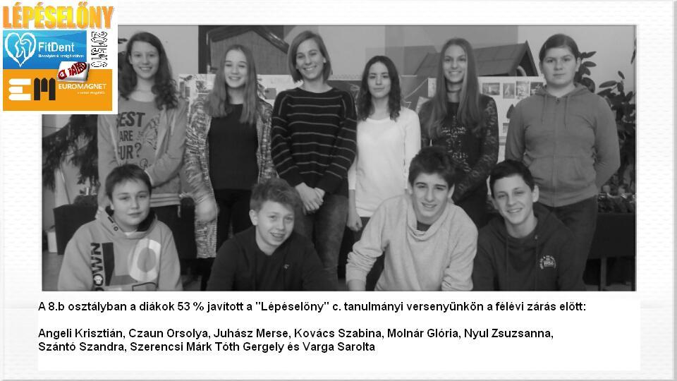 Diadal Úti Általános Iskola: 8b javítók 201512 - indafoto.hu