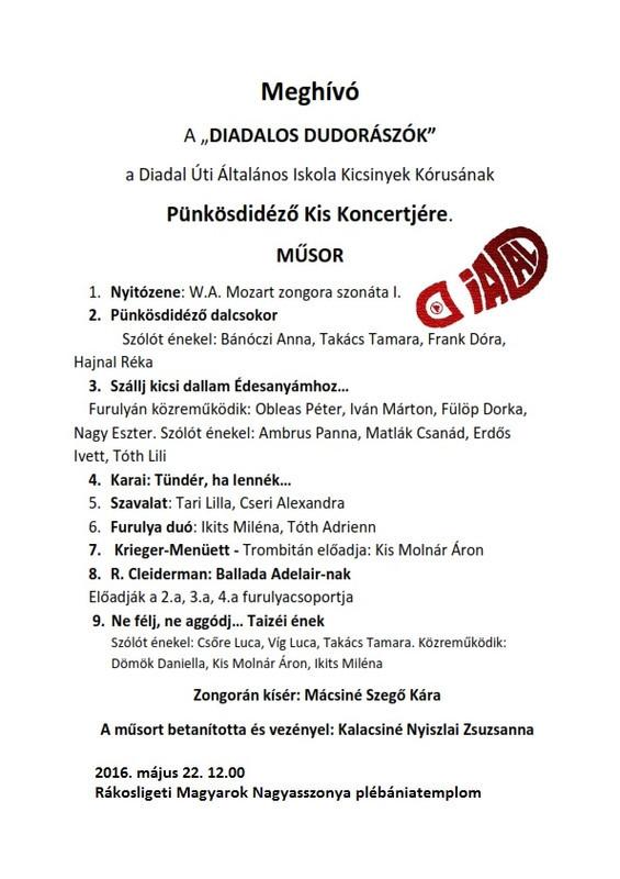 Pünkösdi meghívó 2016.05.22