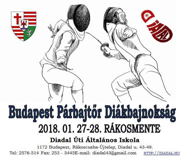 plakát párbajtőrverseny 2018 01