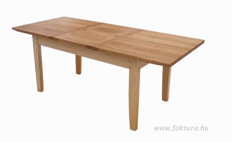 Nagyobbítható asztal kinyitva